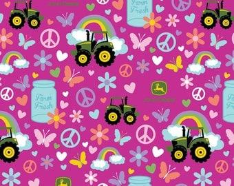 John Deere Fabric Farm Fresh Fabric From Springs Creative 100% Cotton