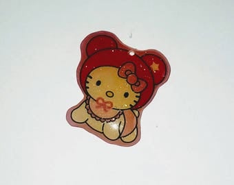 X 1 Baby cat kawaii plexiglass 20mm