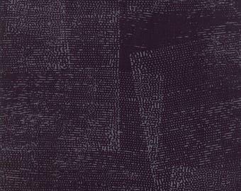 1/2 Yard - Fragile - Stamped - Black - Zen Chic - Brigitte Heitland - Moda - Fabric Yardage - 1632 15