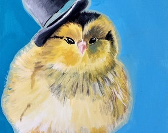 Chick with Top Hat
