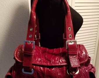 RARE STUART WEITZMAN leather Satchel Handbag