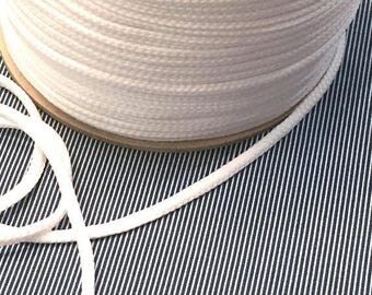 Summer Sale Cotton cord 4mm white