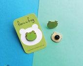 Floris the Frog   Hard Enamel Pin