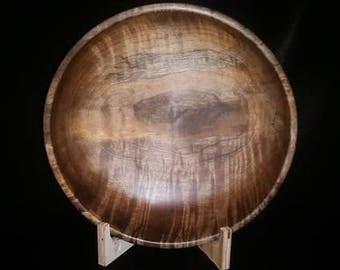 Large myrtlewood salad bowl