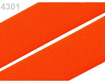2 cm orange 4301 elastic band