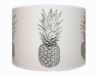 lamp shade/ ceiling light/ pendant light/ pineapple lamp shade/ drum lampshade/ lighting/handmade/ home
