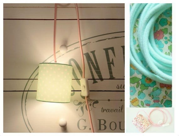 Reserved for Jessica #Lampe & LUCILE Liberty Betsy turquoise lamp