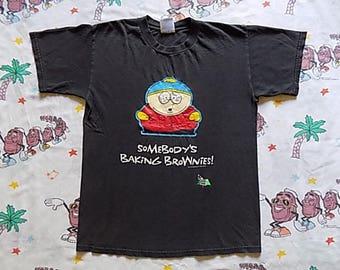 Vintage 90's Cartman South Park T shirt, size Medium 1998 Comedy Central