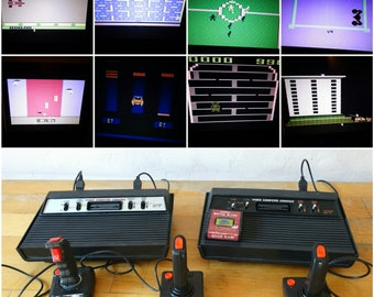 Working Atari Consoles, Atari Clone, Atari Video Game, Atari 2600, Atari Complete, Atari Controller, Atari Colsole, Video Game, , Atari