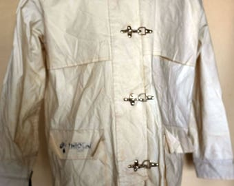 Ivory Colour Waterproof Coat