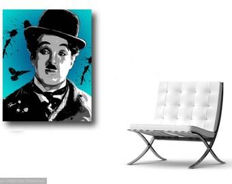 "Limited Edition Print.  "" Charlie "" Digital painting, Wall art, Painting. Art print"