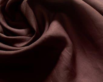 Linen, Chocolate Brown, 1 5/8 Yards