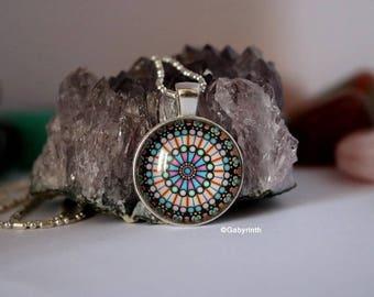 Pendant geometry sacred Mandala Anti-Stress