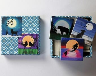 memory game silhouette matching game