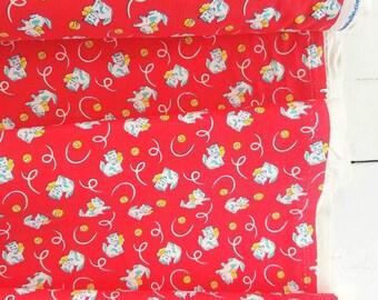 Toy Box Mini's - Kitten(Red background) - Sara Morgan - Washington Street Studio - P&B Textiles