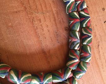 Ghana new powder recycle glass beads the color is very beautiful Africa trade beads