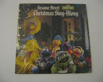 NEW! Sealed! - Sesame Street - Christmas Sing-Along - Circa 1984