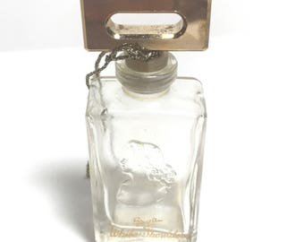 Vintage Evyan White Shoulders Perfume Bottle Empty
