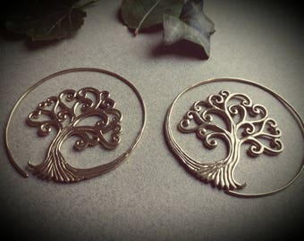 earrings *tree of life big*