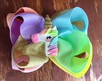 Unicorn Dreams- Double Stack bow