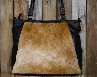 Hair On Hide Leather Purse EP-1401