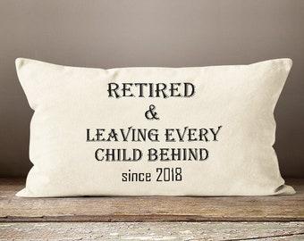 Teacher Retirement Gift, Principal Retirement, Teacher Retirement, Teacher Gift, Gift for Retiring Teacher, Retired Teacher, 2018 Retirement