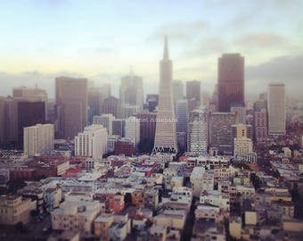 San Francisco Fine Art Print, California Photography, City Photography, City Buildings