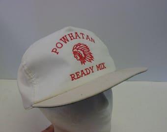 Powatan 90s snapback native American hat cap