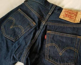 Vintage 501 Levis 28 x 34 Button Fly
