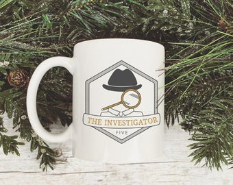 Enneagram Type 5 The Investigator Magnifying Glass Mug