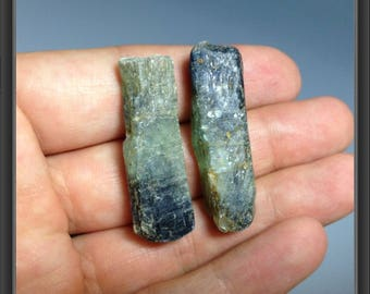 Rough Natural Kyanite, Tanzania - 2 pieces