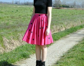 Vintage Polka Dots Skirt