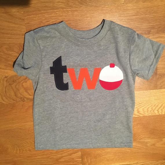 Boys 2nd birthday shirt fishing bobber two, 2nd Birthday Shirt, gone fishing shirt, Birthday shirt fishing theme, boy fishing, the big catch