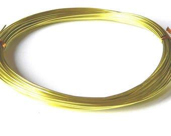 6 meters transparent olive green 1.5 mm in diameter