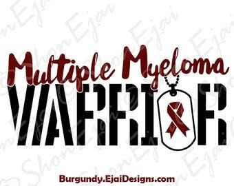 Multiple Myeloma Svg, Multiple Myeloma Awareness Svg, Cancer Awareness Ribbon Svg, Burgundy, Awareness Ribbon SVG, Cancer SVG