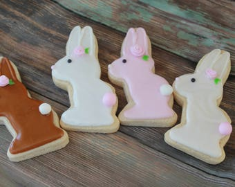 Easter / Peter Cottontail Bunny Vanilla Sugar Cookies