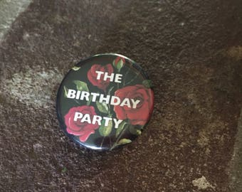 Vintage 90's Birthday Party Nick Cave button