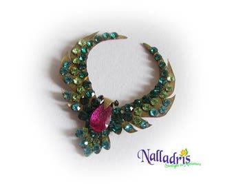"Miniature Necklace ""Hummingbird"""