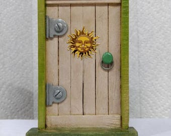 Fairy Door with sun