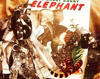 The Saggy Baggy Elephant Little Golden Book Junk Journal