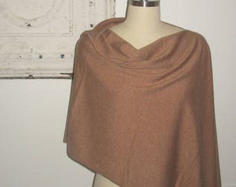 every camel knit poncho