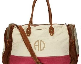 Heartstrings Personalized Duffle Bag
