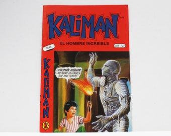 Kaliman El Hombre Increible No 107 El Faraon Sagrado Revista en Español Spanish Comic RARE