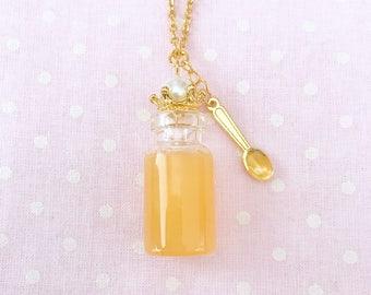 Jar of Honey or Strawberry Jam