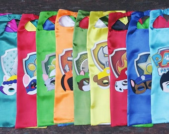 Capes & Mask Party Packs