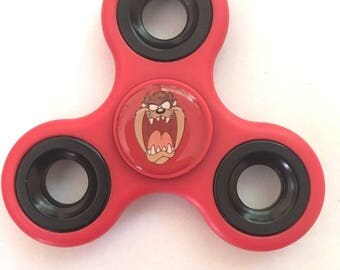 Taz Tasmanian Devil Looney Tunes Three Way Fidget Spinner Officially Licensed Distracto Spinnerz Toy