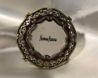 Jay Strongwater Miniature Picture Frame Swarovski Crystals Neiman Marcus