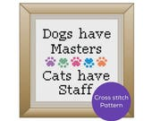 Dogs and Cats Cross Stitc...