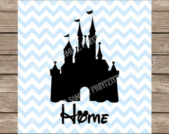 Disney SVG, Disney Castle svg, Disney Castle, svg, Castle, Disney, svg file, svg silhouette, svg file for cricut, svg disney disney princess