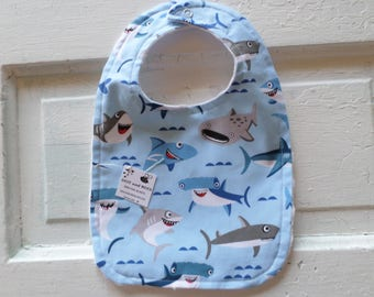 Happy Shark Bib - FREE SHIPPING!!!